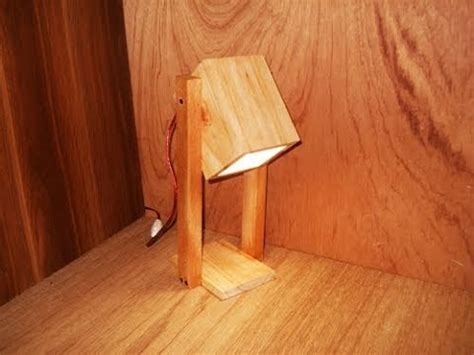 membuat lampu belajar  kayu youtube