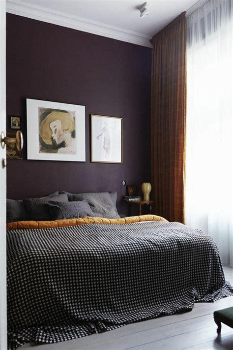 couleur de mur pour chambre 80 idées d 39 intérieur pour associer la couleur prune