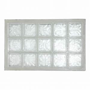 Panneau Brique De Verre : panneau de verre la roch re n 35 incolore 67 x 107 cm ~ Dailycaller-alerts.com Idées de Décoration