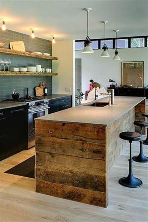 cuisine avec ilots cuisine moderne conforama