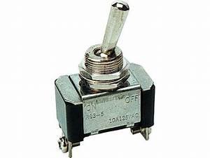 Interrupteur à Levier : interrupteur levier 2 positions marche arr t ~ Dallasstarsshop.com Idées de Décoration