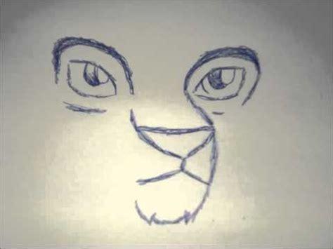 bilder malen leicht katze und wolf malen