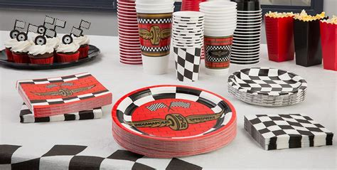 Race Car Party Supplies & Decorations  Indy 500 Party
