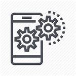 Optimization Icon Marketing Seo Mobile Icons 512px