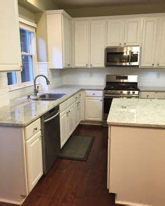 kitchen diner flooring white liner backsplash beveled subway tile edge colonial 1542