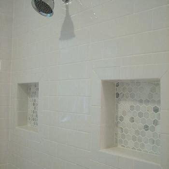 grecian white marble hex tile design decor photos