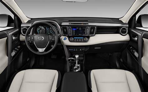 toyota rav hybrid limited  suv drive