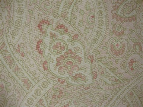 Ralph Upholstery Fabric by Cotton Upholstery Fabric Ralph Paisley Pink