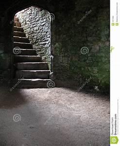 Stairway In Castle CellarDungeon Stock Photo Image 1017066