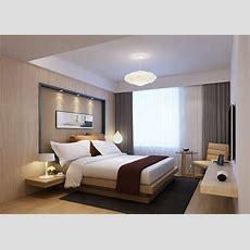 Modern Bedroom 3d Model Max Cgtradercom