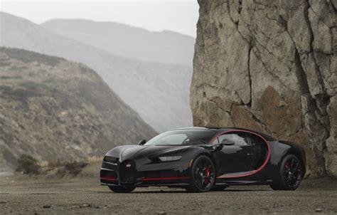 Follow the vibe and change your wallpaper every day! Обои Bugatti, Black, Turbo, RED, V16, VAG, Chiron картинки на рабочий стол, раздел bugatti - скачать