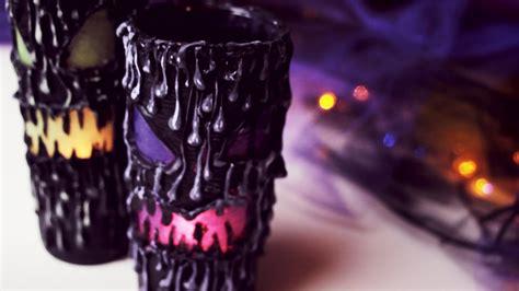 diy scary halloween lantern home decor youtube
