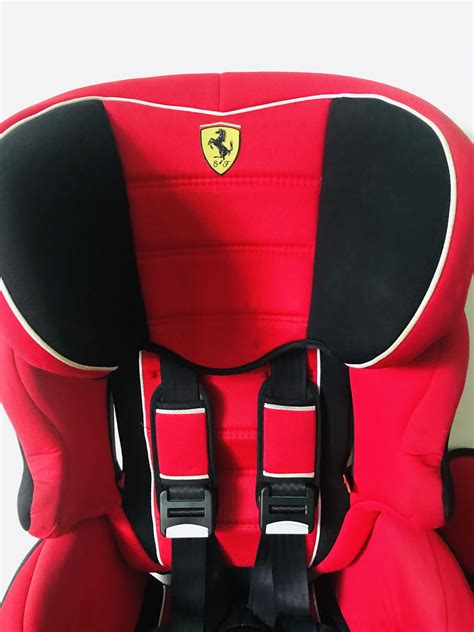 This includes getting your baby up in the. Ferrari Baby/Child Car Seat and booster seat 2 in 1 ...