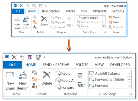 Office 365 Outlook Increase Font Size by How To Change Ribbon Font Size In Outlook In Windows 7 8 10