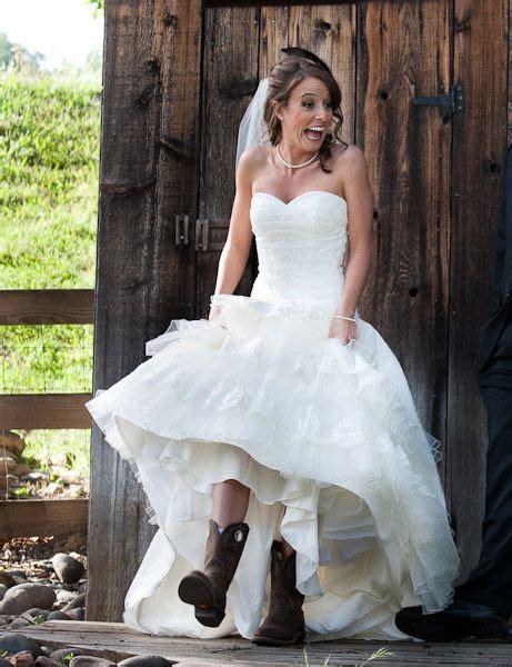 cowboy style wedding dresses country wedding  tbs