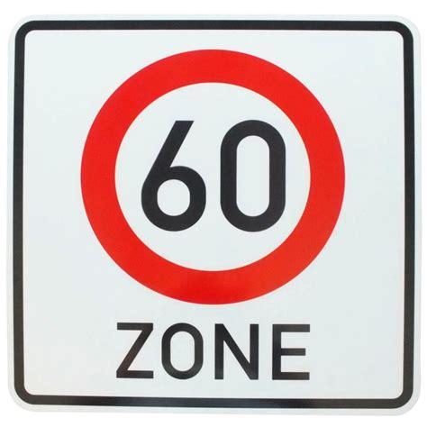 Hier findet ihr diverse kostenlose beispiele für reden zum 60. Verkerszeichen ZONE 60 Verkehrsschild Schild Geburtstag | eBay