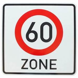 6 Km H Schild : original verkehrszeichen mit anfang zone 60 km h schild ~ Jslefanu.com Haus und Dekorationen