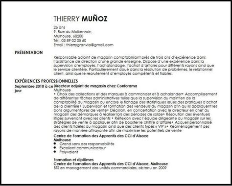 Assistant Manager Cv Exle by Cv Retail Assistant Manager Exemple Cv Retail Assistant