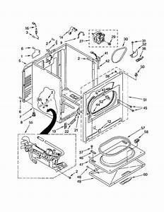 Kenmore Model 11072822101 Residential Dryer Genuine Parts