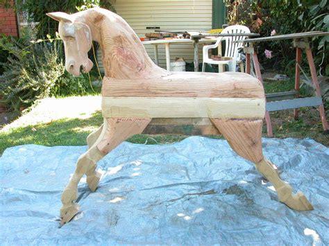 rocking horse  milton toal  lumberjockscom