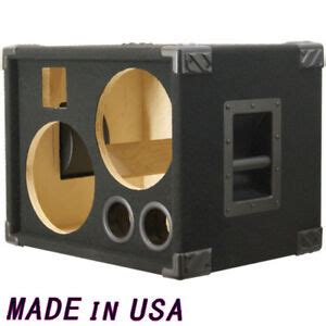 2x10 guitar cabinet 2x10 bass guitar speaker cabinet empty black carpet