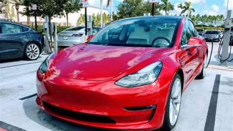 tesla model  wins  resale  competition