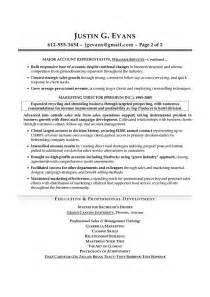 best resume format for sales professionals organizations sales resume exles best template collection