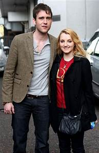 Evanna Lynch and Matthew Lewis at London Studios - Zimbio