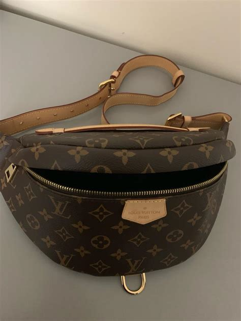 louis vuitton bumbag brown monogram canvas cross body bag tradesy