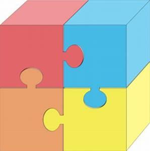 Puzzle Pieces 3d Clip Art at Clker.com - vector clip art ...