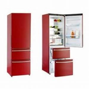 Refregirateur Pas Cher : refrigerateur rouge soldes ~ Premium-room.com Idées de Décoration