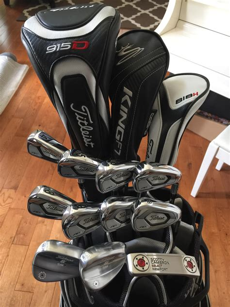 What's in the Bag 2018 : golf