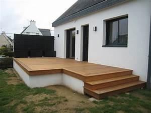 Bois De Terrasse : terrasse bois surelevee diverses id es de conception de patio en bois pour votre ~ Preciouscoupons.com Idées de Décoration