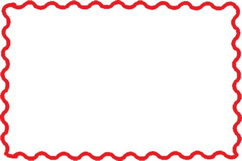 cute red clipart border clipground