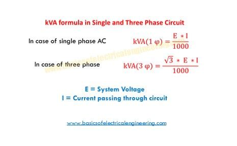 Phase Motor Power Calculation Formula Impremedia