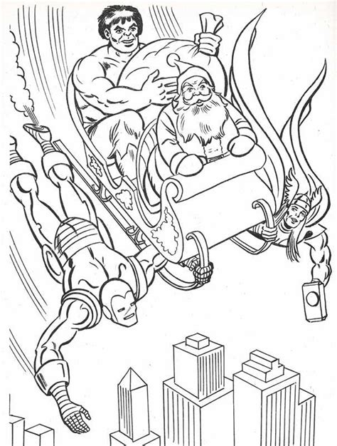 avengers christmas coloring pages pin by spetri marvel comics on 1984 marvel super heroes