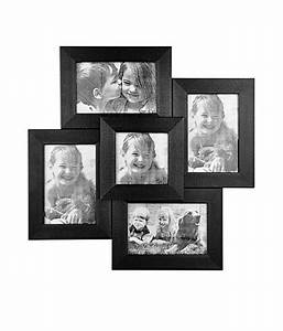 Celestial Black Glossy Photo Frame Collage- 5 Frames: Buy