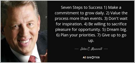 john  maxwell quote  steps  success