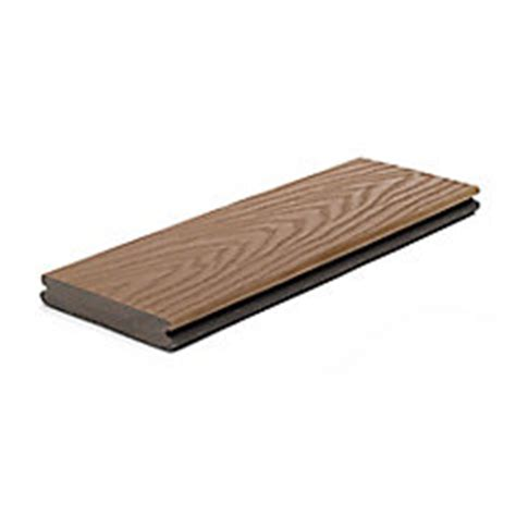 trex 12 ft select composite capped grooved decking