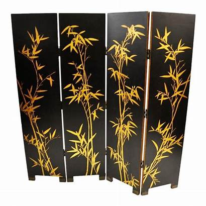 Screen Panel Asian Divider Inspired Four Dividers
