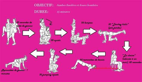 exercices pour jambes et fesses mon grimoire