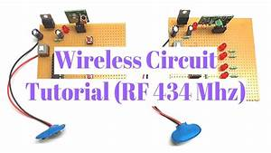 Diy Rf 434 Mhz Wireless Circuit