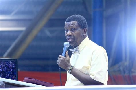 President muhammadu buhari has consoled general overseer of the redeemed christian church of god (rccg) pastor enoch adeboye, family and church members over the death of his son. Lekki killings: Adeboye , United Nations condemn military ...