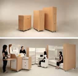 space saving furniture kenchikukagu freshome - Space Saving Kitchen Furniture