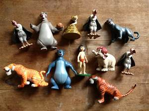 SALE RARE Disney Jungle Book Small Figurines Characters Toys