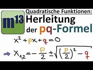 Nullstellen Berechnen Pq Formel Aufgaben : p q formel videolike ~ Themetempest.com Abrechnung