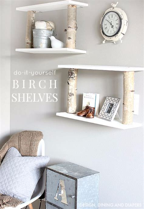 unbelievably simple diy shelving projects