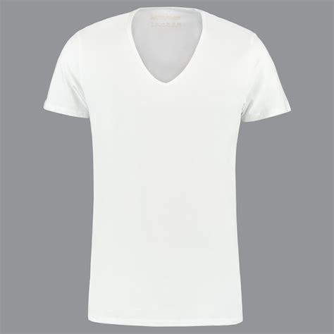 wit extra diep  hals  shirts van shirtsofcotton  shirts