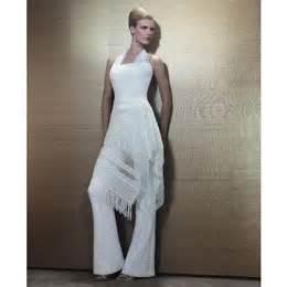 costume femme mariage la mariée peut porter un pantalon de mariage