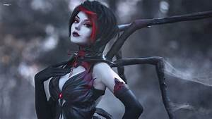 Wallpaper League Of Legends, Elise, Cosplay, Hagane ...